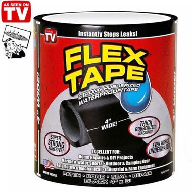 Flex Tape Patch Bond Super Strong Rubberized Waterproof Seal Repair
