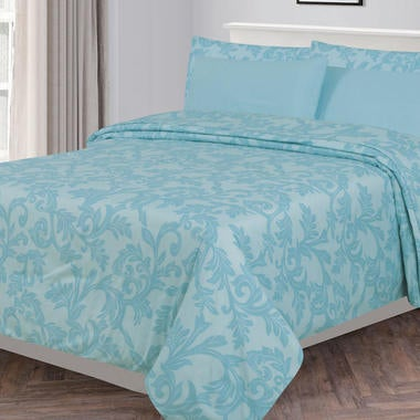 Lux Decor Bed Sheets - Brushed Microfiber 1800 Bedding - Wrinkle and Stain Resis