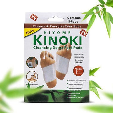 10pcs Cleansing Detox Foot Pads Cleanse Energize Your Body