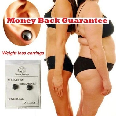 Bio-Magnetic Slimming Earrings ~ Slim Beautifully Naturally!