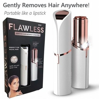 Mini Finishing Touch Flawless Facial Hair Remover Lady Eletric Shaver Mini Trimm