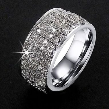 7-12 Luxury rings for men and women