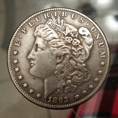 1893 COPY MORGAN DOLLAR *RAREST OF DATES*USA SELLER