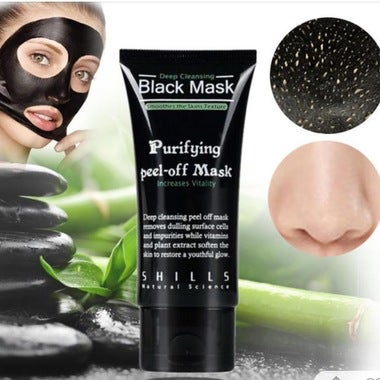 Black Charcoal Facial Mask: Removes Blackhead