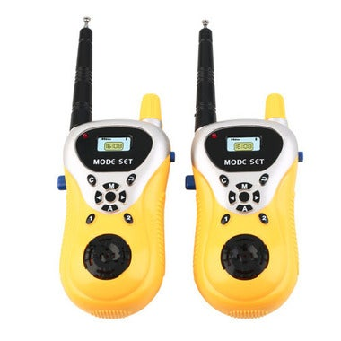 Hot! 2pcs Intercom Electronic Walkie Talkie Kids Child Mni Toys Portable Two-Way