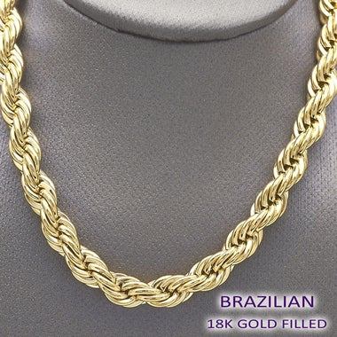 Gold Filled Robe 24 Inch Chain