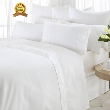 6 Piece: Egyptian Comfort Quaility 1800 Series Deep Pocket Bed Sheet Set