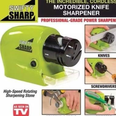 Swifty Sharp Motorized Knife Electric Sharpener for Sharpening Stone Kitchen Too