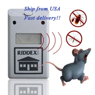 Electronic Ultrasonic Pest Repeller Pest Repelling Aid
