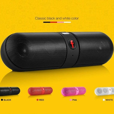 New fashion Capsule pill wireless card Bluetooth speaker mini magic sound pill s