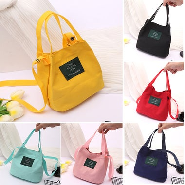 Fashion Canvas Bag Women Casual Shoulder Bag