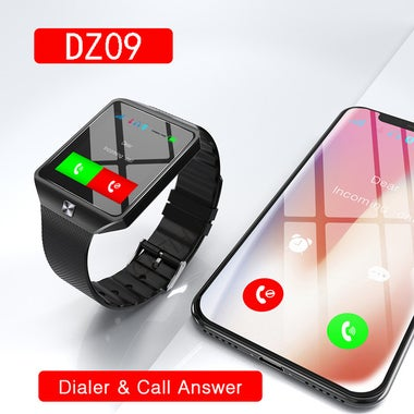 Smart Watch Digital DZ09 Wrist with Men Bluetooth Electronics SIM Card Sport Sma