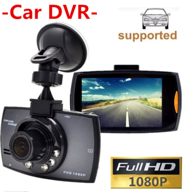 Car DVR Camera 2.4 Full HD 1080P 170 Degree Registrator Recorder Motion Detectio