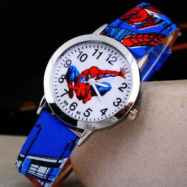 Cute Cartoon Child Spider Knight Watch