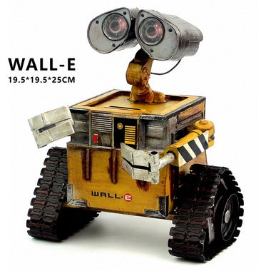 Wall-E Robot Movie model Cold-rolled steel Metal Action Figure Toy Doll robote p