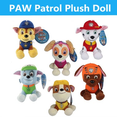 Pawed Patrolling Dog Stuffed Plush Best Gift For Kids
