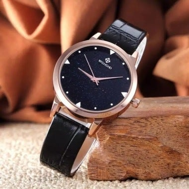 Bright sky strap quartz watch