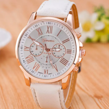 Large face Rose Gold-tone Watch