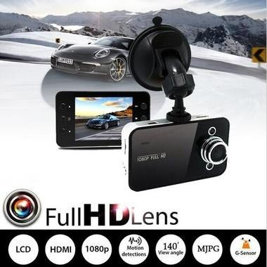 New Mini HD 720P Car Camera DVR Camcorder Video Recorder K6000 Auto Tachograph W