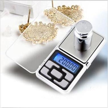 LCD Digital Pocket Scales Portable Jewelry Balance Measuring Scales