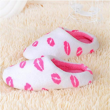 Winter Cute Slippers Cotton Flip Flop