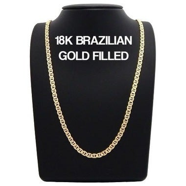 18K Gold Filled Gucci Necklace 24