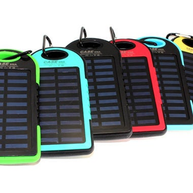iPhone/iPad/Android External Solar Charger Power Bank -15000mAh