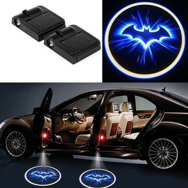Nice Car Door Welcome LED Light Laser Projector Logo Batman Wireless Car Door Li