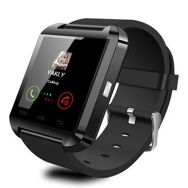 CN Bluetooth Smart Watch Wrist Watch U8 U Watch - BLACK for ANDRIOD Phone