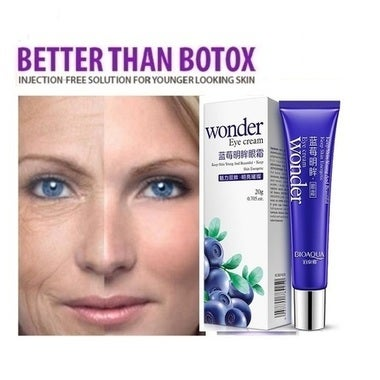 AUTHENTIC BIOAQUA WONDER EYE CREAM: For Anti-Aging & Anti-Wrinkle Skin Restorati