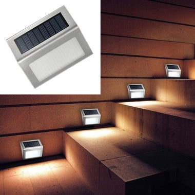 High Quality Outdoor Wall Lamp Stair Lamp 2V 0.1W Household Solar Energy LED Gar