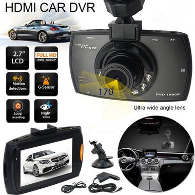 G30 LCD 1080P Car DVR Dash Camera Night Vision Vehicle Traveling Date Recorder T