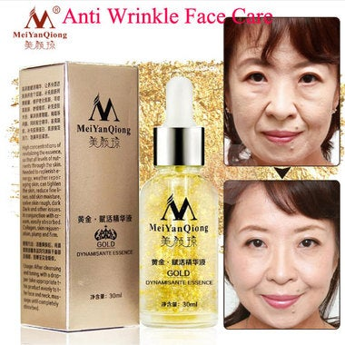 Anti Aging Skin Care Pure 24K Gold Essence Day Cream Anti Wrinkle Face Care Coll