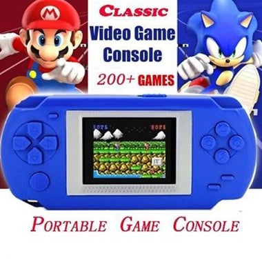 Easy Player 200+ Games Console Portable Video Game Handheld Player Built-in 268
