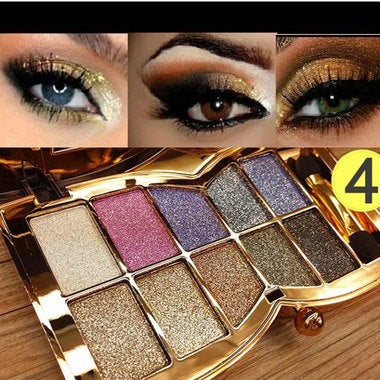 10 Colors Eyeshadow Palet Eyebrow Powder Maquiagem Pigmented Eyebrow Maquiagens