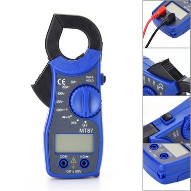 MT87 Digital Clamp Meter Multimeter With Measurement AC/DC Voltage Tester Curren