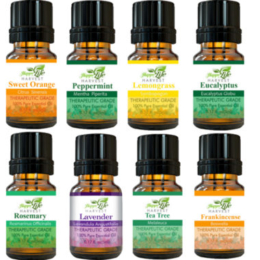 100% Therapeutic Grade Essential Oil, 5mL (0.17 fl oz) by HappyLifeHarvest
