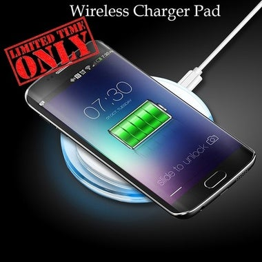 Wireless Charger USB Charge Pad For iPhone X 8 Plus Samsung Galaxy S8 Plus S6 S7