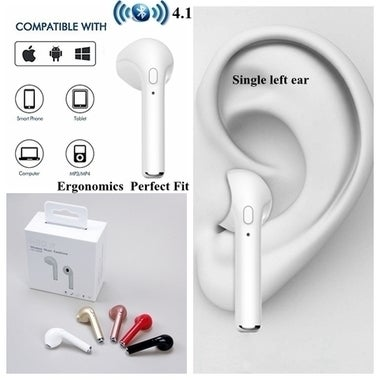 Free Shipping ! Wireless Bluetooth 4.1 Headphone Portable Mini Headset Business