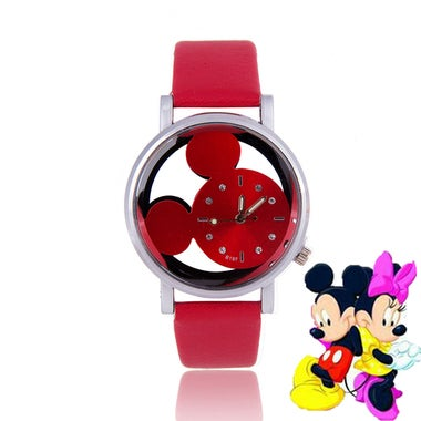 NEW Mickey hollow watch