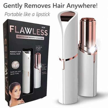 Electronic Flawless Women's Painless Facial Hair Remover