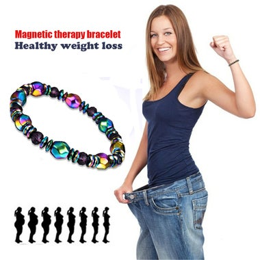 Magic color magnetic therapy bracelet healthy weight loss