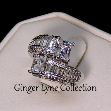 Heather Wrapped Band Bridal Engagement Wedding Ring- GLK Collection