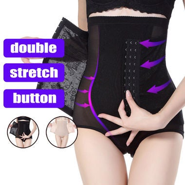 Hot Selling Women High Waist Trainer Tummy Control Panties Butt Lifter Body Shap