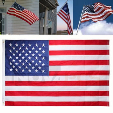 The Beauty American 3'x5' FT Flag USA US Stripes Star Spangled Banner