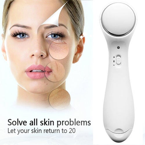 Home Electronic Beauty Cleansing Instrument Ion Into The Instrument Facial Massage Instrument Compact Beauty Antiwrinkle Machine