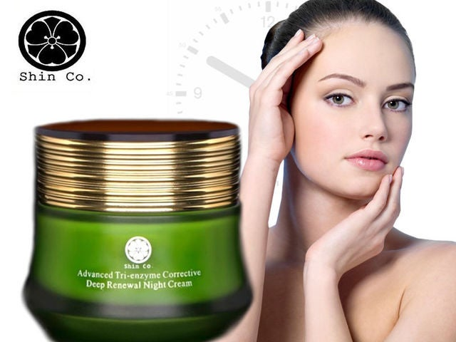Shin Co Advanced Tri-enzyme Corrective Deep Renewal Night Cream