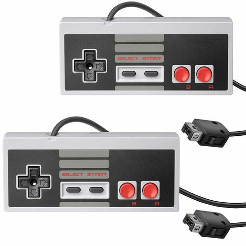 2pcs Wired Handle Game Controller Gamepad For Nintendo NES Mini Classic Edition Console