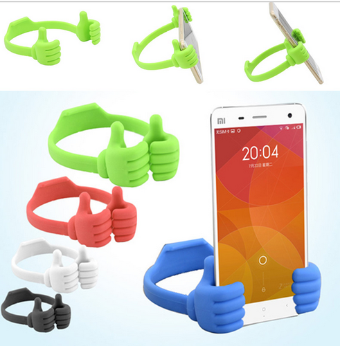 Lazy Mobile Phone Holder Bed Thumb Cell Smartphone Tablet Accessory Mount Stand Support Desk Desktop Table Stents