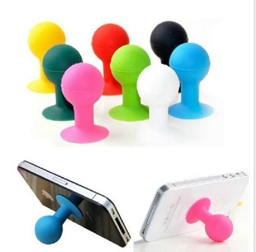 Silicone Suction sucker Holder Stand Sucker for Cell Phone Mobile iPad PSP GPS